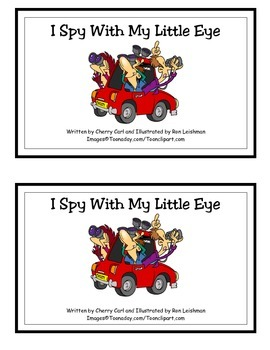 I Spy With My Little Eye: Word Family Guided Reader for -y