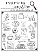 I Spy With My Long Vowel Eye Worksheets