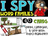 I Spy Word Family Words - September Edition (Apples, Johnny Appleseed)
