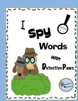 I Spy Words