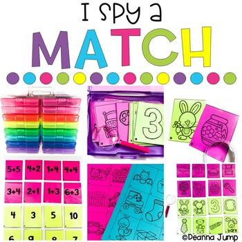 I Spy a Match: Huge Growing Bundle