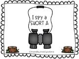 I Spy a Short A Clip It Center (camping theme)