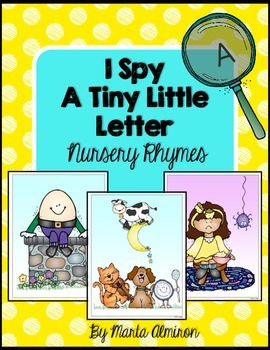 I Spy a Tiny Little Letter - Nursery Rhymes Theme