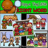 I Spy a Tiny Little SIGHT WORD! {CHRISTMAS}