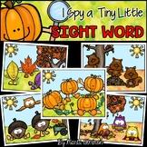 I Spy a Tiny Little SIGHT WORD! {FALL}
