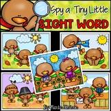 I Spy a Tiny Little SIGHT WORD! {TURKEYS HAVE FUN}