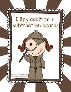 I Spy: addition and subtraction