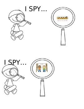 I Spy for s-blends