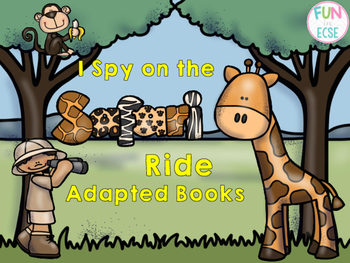 I Spy on the Safari Ride Adapted Books