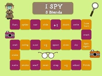 I Spy /s/ blends game