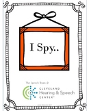 I Spy holiday and seasonal speech and language activities