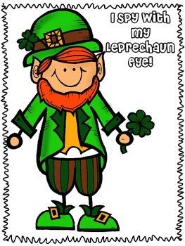 I Spy with my Leprechaun Eye!