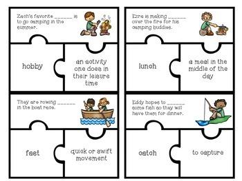 I Spy...Context Clues! Vocabulary Puzzles