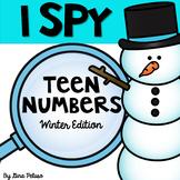 Teen Numbers Math Station: I Spy