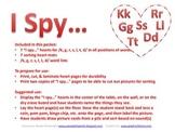 I Spy.../k, g, s, r, l, t, d/