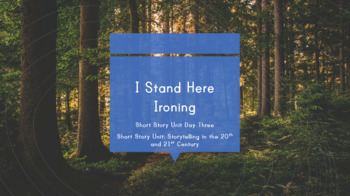 I Stand Here Ironing - Lesson Plan (Commentary and Discussion)