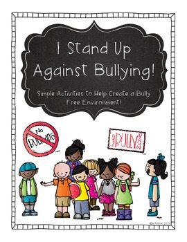 I Stand Up Against Bullying!