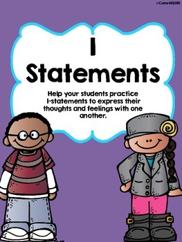 I-Statements Flap Book