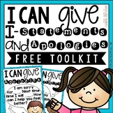 I-Statements and Apologies Free Toolkit