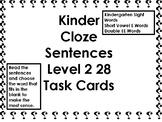 I-Station Cloze Task Cards (190-215) (28 Cards)