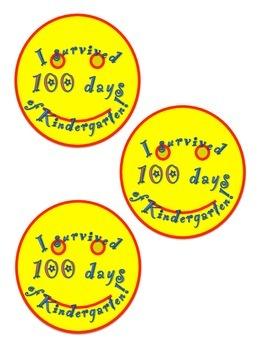 I Survived 100 Days of Kindergarten!