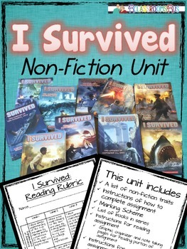 I Survived / book review