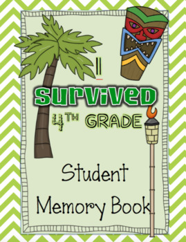 *I Survived 4th Grade* Memory Book for Big Kids