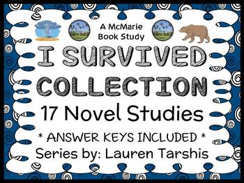 I Survived COLLECTION (Lauren Tarshis) 17 Novel Studies (578 pages)