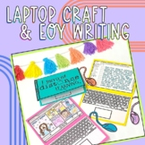 I Survived Distance Learning Laptop Craft and Writing | On