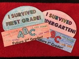 I Survived First Grade - Last Day of School Hat