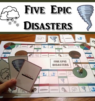 I Survived: Five Epic Disasters Game (Lauren Tarshis)