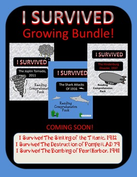 I Survived! GROWING Bundle