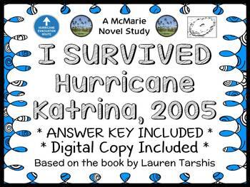I Survived Hurricane Katrina, 2005 (Lauren Tarshis) Novel Study  (37 pages)