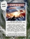 I Survived Hurricane Katrina 2005 Tarshis Novel Study Guide Printable