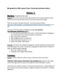 I Survived Hurricane Katrina- 5 week UBD Lesson Plan