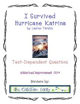 I Survived Hurricane Katrina Text-Dependent Questions