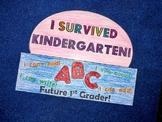 I Survived Kindergarten - Last Day of School Hat