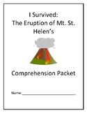 I Survived Mt. St. Helen's Comprehension Packet