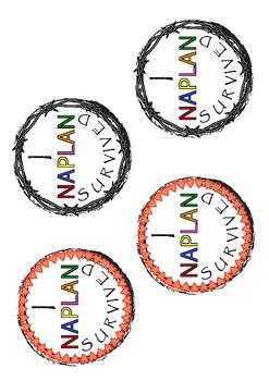 I Survived NAPLAN Badge