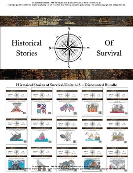 I Survived Study Discounted Bundle Units 1-15 - Co-op/School License