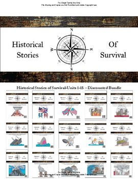I Survived Study Discounted Bundle Units 1-15 - Family License
