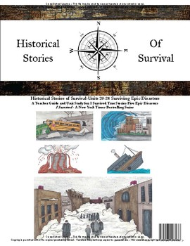 I Survived Study Epic Disasters Units 20-24 Surviving Epic Disasters -School
