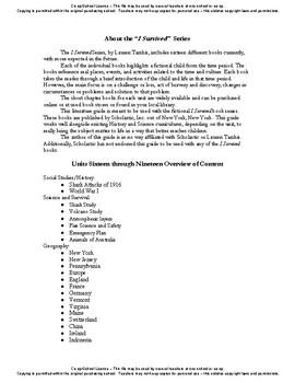 I Survived Study True Stories Bundle Units 16-26 - Co-op/School License