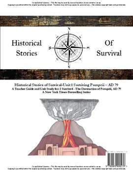 I Survived Study Unit 1 Surviving Pompeii AD 79 - Co-op/School License