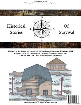 I Survived Study Unit 13 Surviving Hurricane Katrina - 2005 - Family License