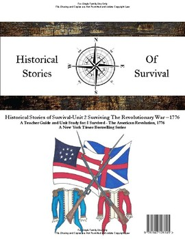 I Survived Study Unit 2 Surviving The Revolutionary War, 1776 - Family License