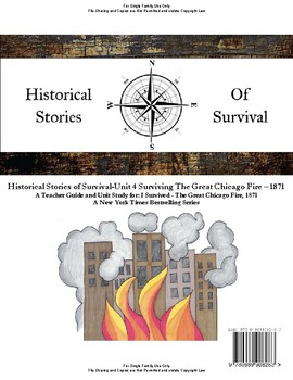 I Survived Study - Unit 4 Surviving The Great Chicago Fire 1871 - Family License