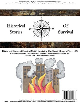 I Survived Study - Unit 4 Surviving The Great Chicago Fire 1871 - School License