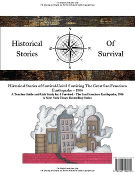 I Survived Study Unit 5 Surviving The Great San Francisco Earthquake 1906-Family