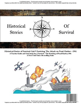 I Survived Study Unit 9 Surviving The Attack on Pearl Harbor - 1941-Co-op/School